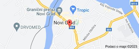 Mapa za lokaciju: Komunalno preduzeće Komus